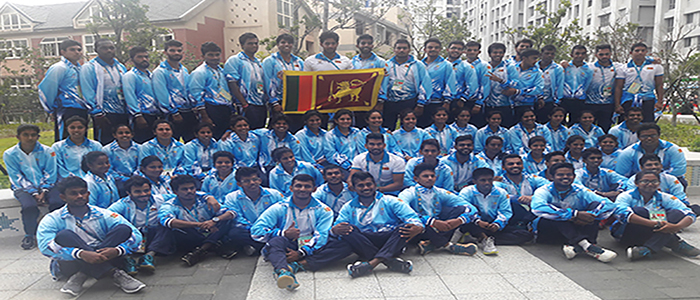 Sri-Lanka-Team-at-Summer-Universiade-2017-villages
